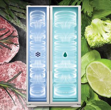 فناوری Twin cooling در یخچال فریزرهای الکترواستیل